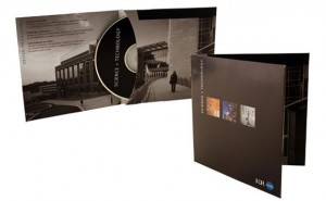 Science & Technology CD case and label