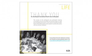 Translational Conference thank you cards