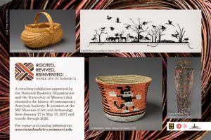 American Basketry half page ad design